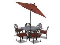 Klaussner Outdoor International Outdoor/Patio Riviera 9' Auto Tilt Market Umbrella