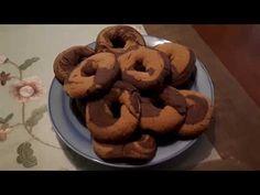 Κουλουράκια λαδιού δίχρομα!! - YouTube Diy And Crafts, Cookies, Youtube, Desserts, Food, Crack Crackers, Tailgate Desserts, Deserts, Biscuits