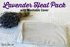 Lavender Rice Bag Heating Pack - KnickofTime.net