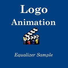 Logo Animation - Equalizer Example - http://videogalleria.net/downloads/logo-animation-equalizer-example/
