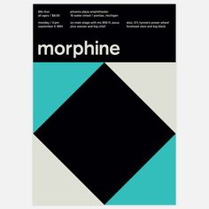 Morphine, 1994 17x23.75 now featured on Fab.