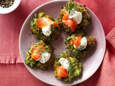 Mini Zucchini-Dill Pancakes Farmers' Market Recipe Finder: Zucchini ...