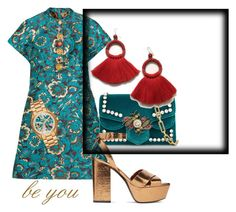 """""""Untitled #52"""" by ioanasilvia on Polyvore featuring Dolce&Gabbana, Gucci, Yves Saint Laurent and Michael Kors"""