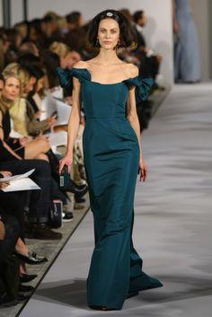 Oscar De La Renta - Runway - Fall 2012 Mercedes-Benz Fashion Week