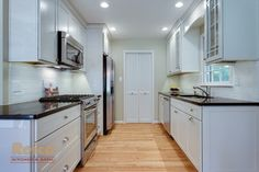 Small Kitchen Design Ideas, Pictures, Remodel, and Decor - page 42 like the stove and fridge wall. just shorten.