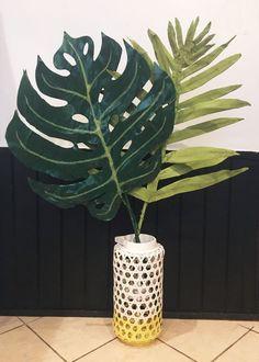 Paper Mache Palm Leaves