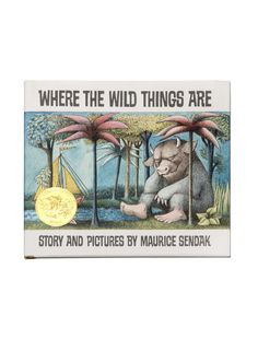 Where the Wild Things Are hardcover book- http://www.outofprintclothing.com/collections/books/products/where-the-wild-things-are-hardcover-book