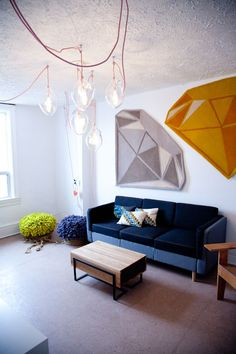 Gemstone rug by Bev Hisey.
