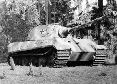 King Tiger by forest #WorldWar2 #Tanks