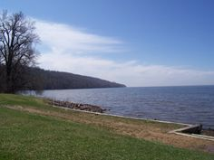 Lake Winnebago, WI.  Right down the block from Chrissy's house.