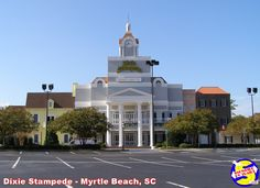 Dolly's Dixie Stampede - gone but not forgotten. Rv Campgrounds, Myrtle, Beautiful Beaches, Great Places, Places To Visit, Restaurant, Mansions, House Styles, Building
