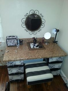 Love the stool for my vanity