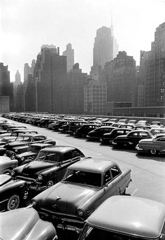 Parking Lot, NYC (1953)