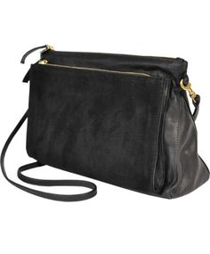 just give me all the black nags please. but especially this one. black gosee clutch by clare v.