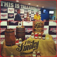Ole Smoky is the official moonshine of Talladega #DegaNation