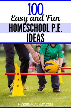 This is the time of year to think about helping kids get active! What does your homeschool p. curriculum look like? Maybe you should consider one of these top 100 easy and fun homeschool p. They just might make your pe class fun! Physical Education Curriculum, Physical Activities For Kids, Fun Activities For Kids, Homeschool Curriculum, Montessori Homeschool, Dementia Activities, Group Activities, Kindergarten Activities, Music Education