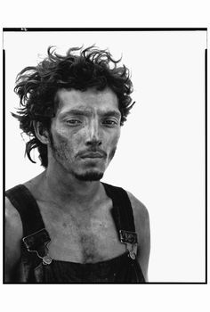 Photographer Richard Avedon Photo John Loengard Roberto Lopez, Oil Field Worker…