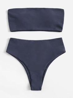 2020 Women Swimsuits Bikini Black Underwear 2 Piece Swimwear Australia Women'S Plus Size Two Piece Swimsuits Ruffle Bikini Cute Swimsuits, Two Piece Swimsuits, Cute Bikinis, Women Swimsuits, Vintage Swimsuits, Summer Bathing Suits, Cute Bathing Suits, Mens Thermal Leggings, Push Up Bikini