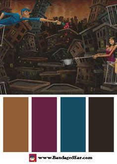 Love and Romance Color Palettes