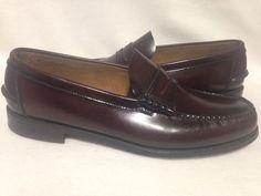 Florsheim Burgundy Penny Loafers Size 10.5 E #Florsheim #LoafersSlipOns