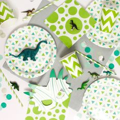 Dinosaur Party Tableware | Dinosaur Roar Party Kit | Complete Party in a Box by…