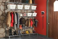 Mudroom Ideas | Dont you just love this? I hope to one day be able to have something ...