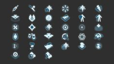 Game Ui Design, Badge Design, Simple Icon, Game Icon, Mobile Game, Cyberpunk, Pixar, Halo, Fantasy Art