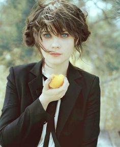 Zoey Deschanel, love her style