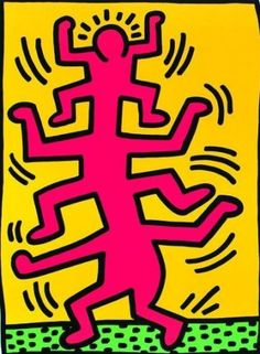 Untitled (1988) by Keith Haring