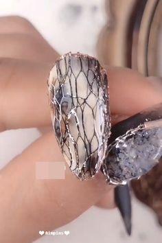 Nail Art Designs Videos, Nail Design Video, Nail Art Videos, Nails Design, Nail Art Blog, Nail Art Hacks, Trendy Nail Art, Stylish Nails, Beautiful Nail Art