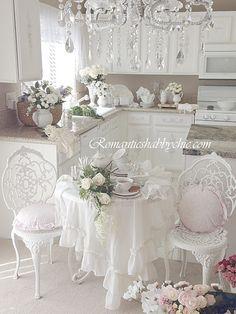 My Shabby Chic Home ~ Romantik Evim ~Romantik Ev: My shabby chic kitchen