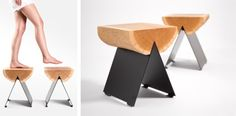 1/2 Stool by Witamina D Project