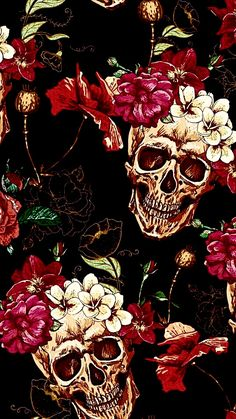 Beautiful ilustration for The day of The dead. Witchy Wallpaper, Go Wallpaper, Halloween Wallpaper Iphone, Skull Wallpaper, Cute Wallpaper Backgrounds, Cellphone Wallpaper, Cartoon Wallpaper, Cute Wallpapers, Wallpaper Caveira