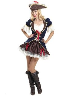 Captain Buccaneer Costume by Fancy Dress Ball