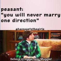 muggle. (: hahahha