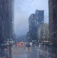 Mike Barr's Rainy Cityscapes
