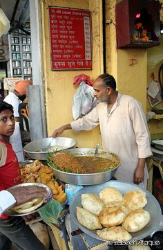 Choley Bhature by ~@faque~, via Flickr Delhi City, New Delhi