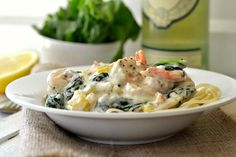 This looks so delicious. Thanks @Amanda Ohbayashi for passing along the shrimp pasta with cream sauce recipe
