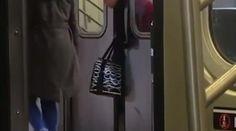 Βίντεο: Στέκεται με το κεφάλι «μαγκωμένο» στις πόρτες του μετρό και δεν τη βοηθάει κανείς > http://arenafm.gr/?p=302336