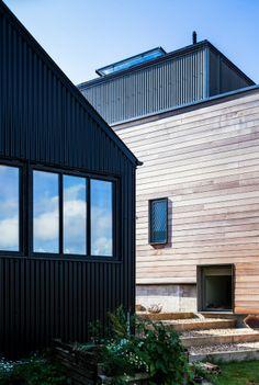 Mole Architects: Stackyard House, Palgrave, Diss, Suffolk, UK.