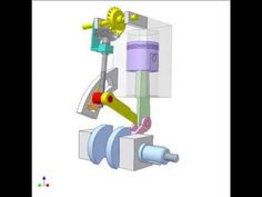 Variable compression ratio engine 4 - YouTube