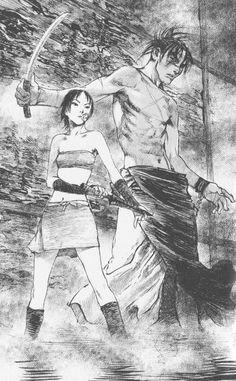 Hiroaki Samura, Blade of the Immortal, Doa Yoshino, Manji