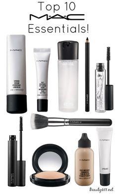 Top 10 MAC Essentials...do you have them all?