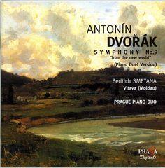 """ANTONIN DVORAK (1841-1904) - SYMPHONY """"From the New World"""" (No.9) op.95 (version piano duet from composer) (+ SMETANA Vltava) - Prague Piano Duo"""