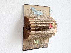 Mischtechniken - BuchOBJEKT _ SchmetterLing & Verwandlung - ein Designerstück von renna-deluxe bei DaWanda