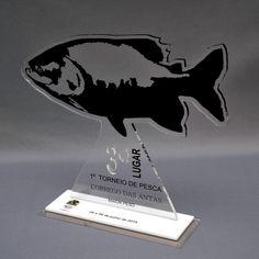 Troféu modelo pesca