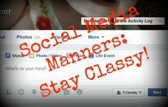 Social Media Manners: Stay Classy | Moms | GreeleyTribune.com
