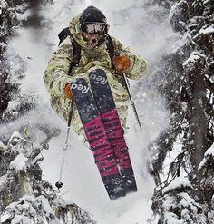 Freeride Mountain Bike, Freeride Ski, Ski Mountain, Snow Fun, Snow Skiing, Ski And Snowboard, Extreme Sports, Winter Sports, Hookahs