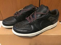 pretty nice a9b01 df529 NIKE DUNK LOW LASER PACK BY MICHAEL DESMOND 308429-001 MEN SZ 7 2003  DEADSTOCK