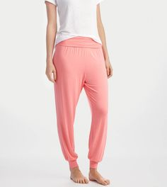 Comfy: Strawberry Pink Aerie Jogger